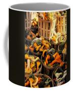Baskets Of Gourds Coffee Mug
