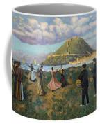 Basque Celebration. Dance At El Antiguo San Sebastian Coffee Mug