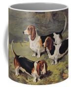 Basset Hounds Coffee Mug