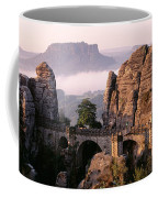 Bastei, Saxonian Switzerland National Coffee Mug