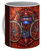 Bates Bicycle Coffee Mug by Mark Howard Jones