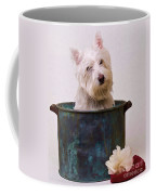Bath Time Westie Coffee Mug
