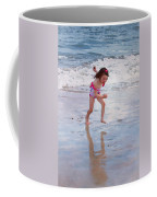 Bathing Beauty Running Coffee Mug