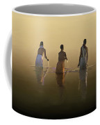Bathing In The Holy River By Dominique Amendola Coffee Mug