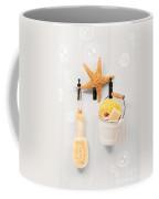 Bathroom Door Coffee Mug