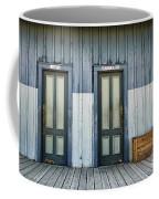 Bathroom Doors Coffee Mug