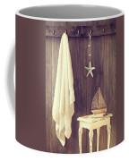 Bathroom Interior Coffee Mug by Amanda Elwell