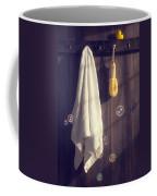 Bathroom Towel Coffee Mug by Amanda Elwell