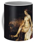 Bathsheba Bathing Coffee Mug