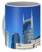 Batman Building And Nashville Skyline Coffee Mug