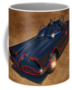 Batmobile Coffee Mug by Tommy Anderson