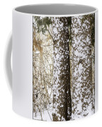 Battered By Winter Blizzard Coffee Mug