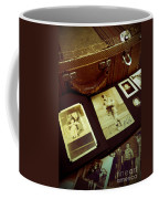 Battered Suitcase Of Antique Photographs Coffee Mug