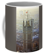 Battersea Power Station And Victoria Tower London Coffee Mug