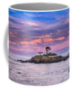 Battery Point Lighthouse And Moon Coffee Mug