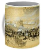Battle At White Oak Swamp Bridge Coffee Mug