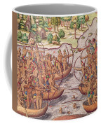 Battle Between Indian Tribes Coffee Mug
