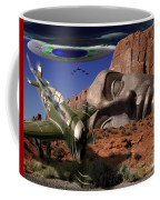 Battle For The Ancient Face Coffee Mug