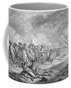 Battle Of Lexington, April 19th 1775, From Recueil Destampes By Nicholas Ponce, Engraved Coffee Mug
