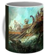 Battle Of Salamis, 480 Bce Coffee Mug