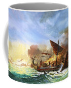 Battle Of Salamis Coffee Mug