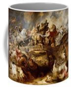 Battle Of The Amazons Coffee Mug