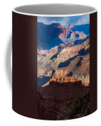 Battleship Rock At The Grand Canyon Coffee Mug