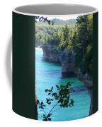 Battleship Row Pictured Rocks National Lakeshore Coffee Mug