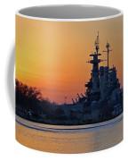 Battleship Sunset Coffee Mug