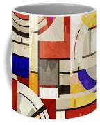 Bauhaus Rectangle Three Coffee Mug