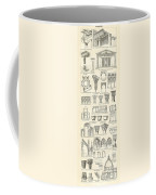 Baustile I And Baustile II Coffee Mug by German School