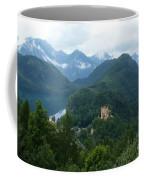 Bavarian Lake With Castle Coffee Mug