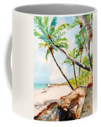 Bavaro Tropical Sandy Beach Coffee Mug