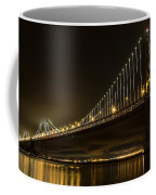 Bay Bridge And Fog  Coffee Mug
