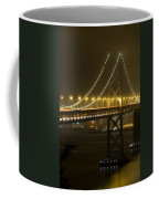 Bay Bridge Fog Coffee Mug