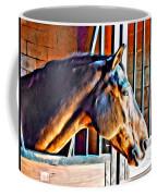 Bay In Stall Coffee Mug