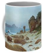 Bay Of Monterey Coffee Mug by Albert Bierstadt