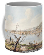 Bay Of Naples From Sea Shore Coffee Mug