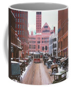 Bay Street Christmas Eve 1924 Coffee Mug