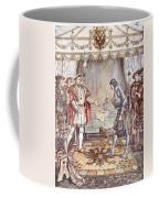 Bayard Presented To Henry Viii Coffee Mug