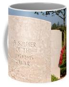 Bayeux British Cemetery Unknown Soldier Coffee Mug