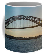 Bayonne Bridge Panoram Sunset Coffee Mug