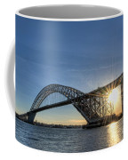Bayonne Bridge Sunburst Coffee Mug