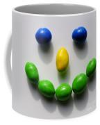 Be Happy Coffee Mug by Luke Moore