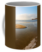 Beach And Rippled Water At The Wadden Sea. Coffee Mug