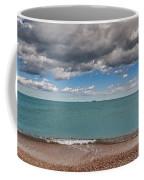 Beach And Ships. Coffee Mug
