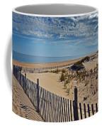Beach At Cape Henlopen Coffee Mug