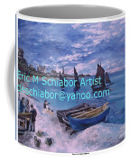 Beach At Saint Address Coffee Mug