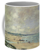 Beach At Trouville Coffee Mug
