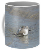 Beach Bird Bath 5 Coffee Mug